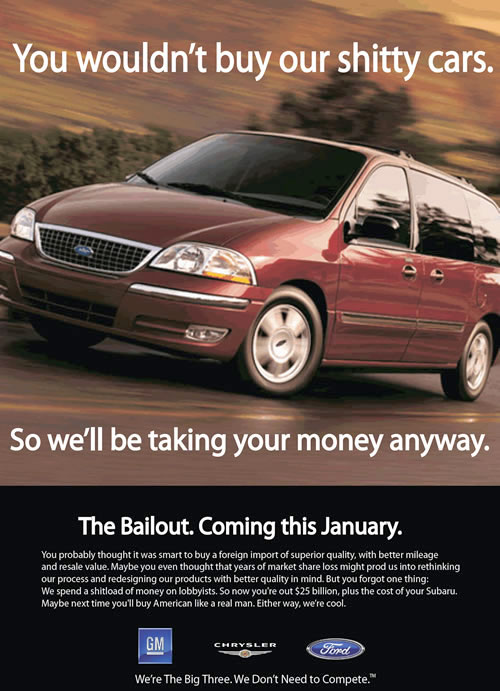 Detroit car advert