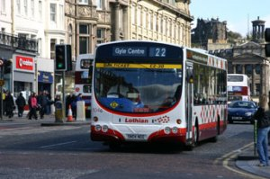 An Edinburgh bus
